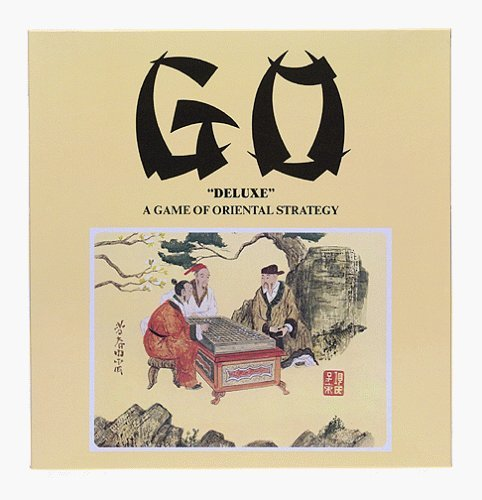 Go Game with Wood Board by John N. Hansen Co.