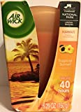 6 hr air freshener - Air Wick Scented Candle - Lasts Up To 40 Hours - Tropical Sunset - Net Wt. 5.29 OZ (150 g) Per Candle - One Candle