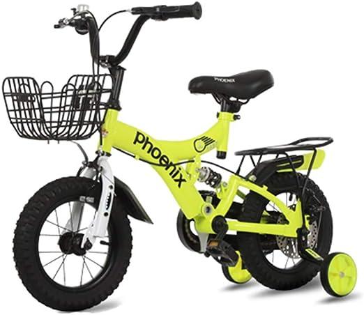 DT La Nueva Bicicleta para niños 2-3-4-6-7-8-9-10 años de Edad ...