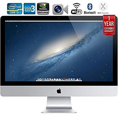 """Apple iMac ME088LL/A 27"""" Desktop + 1 Year Extended Warranty - (Certified Refurbished)"""