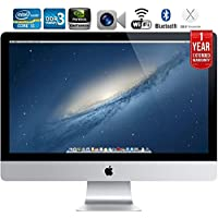 "Apple iMac ME088LL/A 27"" Desktop + 1 Year Extended Warranty - (Certified Refurbished)"