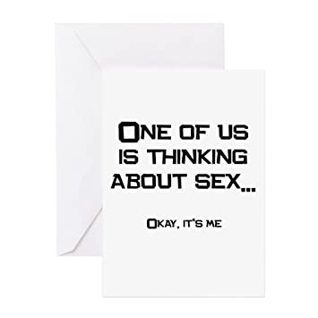 Sex greeting card