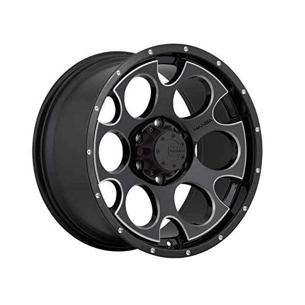 Mamba-M17-Gloss-Black-Wheel-with-Milling-16x86x1397mm-0mm-offset