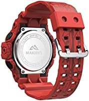 Amazon.com: Makibes GK02 Smart Watch 5ATM Waterproof ...