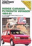 CH7482 Chilton Dodge Caravan and Voyager 1984-1991 Repair Manual