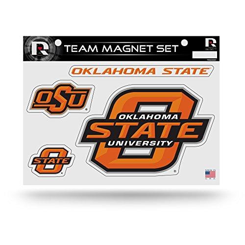 NCAA Oklahoma State Cowboys NCAA Team Magnet Sheet, Red, 11