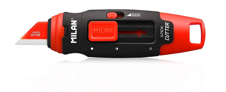 Milan 936030, Taglierino con Lama in Ceramica, 12 Unità