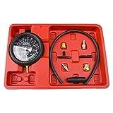 Bang4buck Fuel Pump & Vacuum Tester Carburetor Pressure Tester Gauge Set for Cars, SUVs,Trucks and ATVs