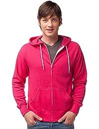 Global Slim Fit Lightweight Zip up Hoodie for Men and Women Hooded Sweatshirt