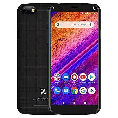 """BLU Studio Mini -5.5"""" HD Smartphone, 32GB+2GB RAM -Black"""