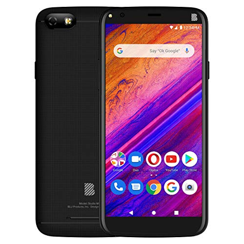 BLU Studio Mini -5.5' HD Smartphone, 32GB+2GB RAM -Black