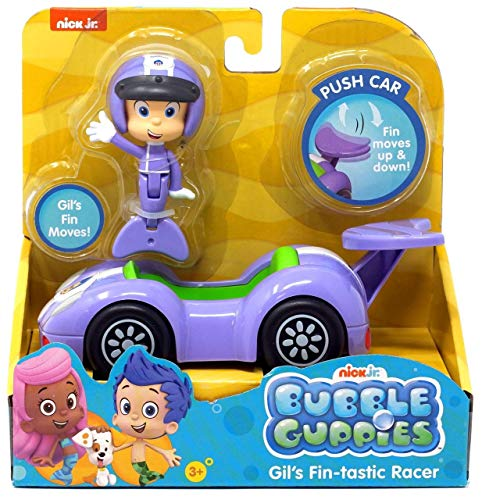 Bubble Guppies - Gil's Fin-Tastic Racer Vehicle Set - Fin Moves Up & Down! Gil's Fin -