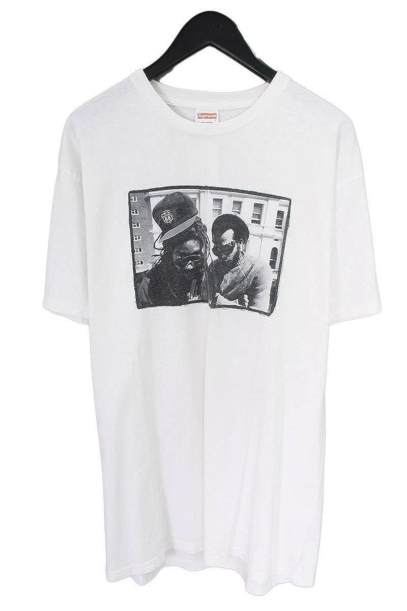 (シュプリーム) SUPREME 【05AW】【David Corio Bad Brains Tee】バッドブレインズボックスロゴTシャツ(L/ホワイト) 中古 B07FY8R575