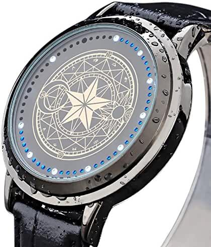 Wildforlife Anime Cardcaptor Sakura Magic Circle Touch LED Watch