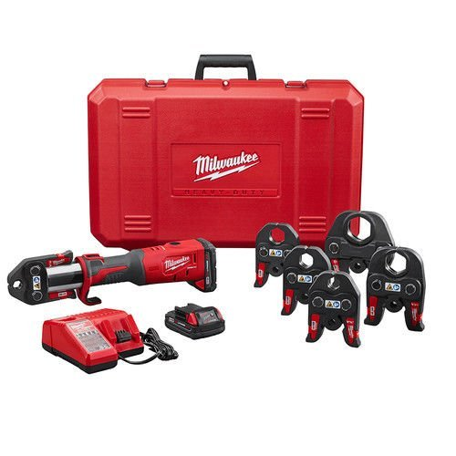 Milwaukee 277322 M18 FORCE LOGIC Press Tool Kit w/ 1/2 in. - 2 in. Jaws