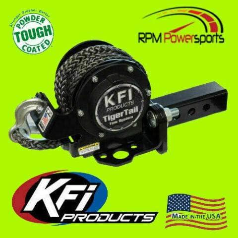 2 Receiver KFI 101100 Fits RPM KFI 2 Tiger Tail Tow System for ATV//UTV