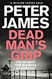 Front cover for the book Dead Man's Grip by Peter James