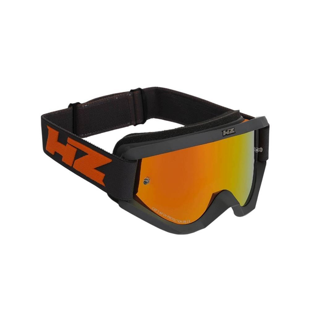 HZ Storm 31WD44 maschera motocross di colore arancione specchiato