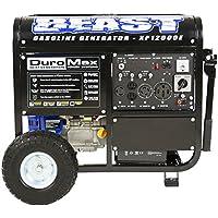 DuroMax XP12000E 12000 Watt Gasoline Portable Generator