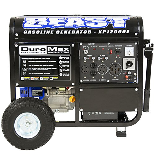 DuroMax XP12000E Portable Electric Generator product image