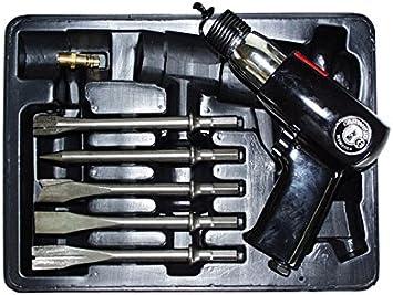 Larwind M123130 Pneumatic Chiseler Kit larwi lar-1520k: Amazon.co.uk: DIY &  Tools