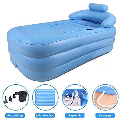 Penson Amp Co Inflatable Bath Tub Pvc Portable Adult