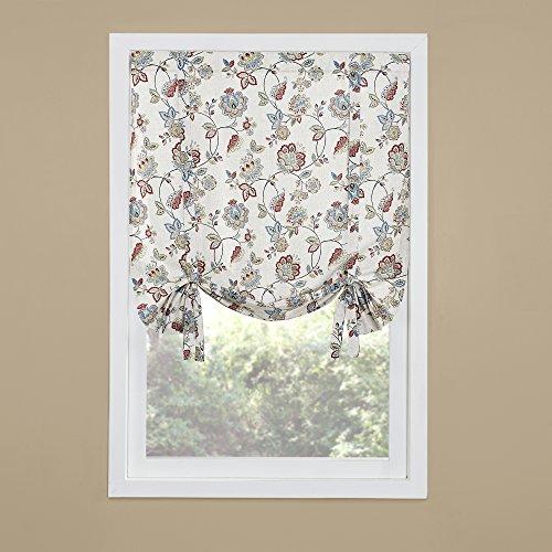 RENAISSANCE HOME FASHION COLETTE Printed Drape Shade, 44
