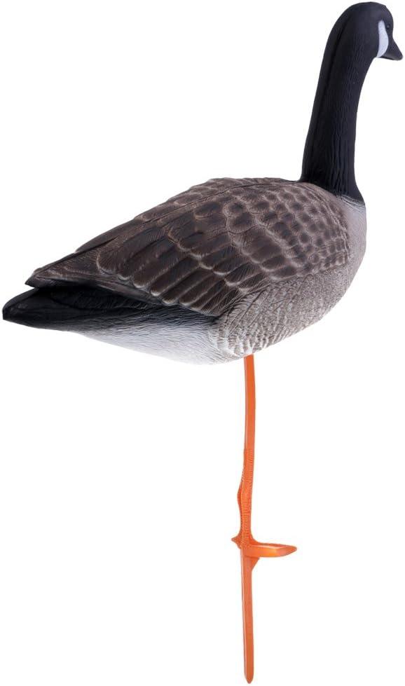 Homyl 3D Lifelike Full Body Goose, Greenhand Hunting Decoys Simulation Goose Decoys Lawn Garden Decoration