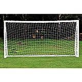 Red de Futbol, Totalmente Resistente a la Intemperie al Aire Libre Jardín Objetivo con Fútbol Redes Profesionales…