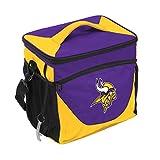 Logo Brands NFL Minnesota Vikings 24 Can Cooler, One Size, Purple