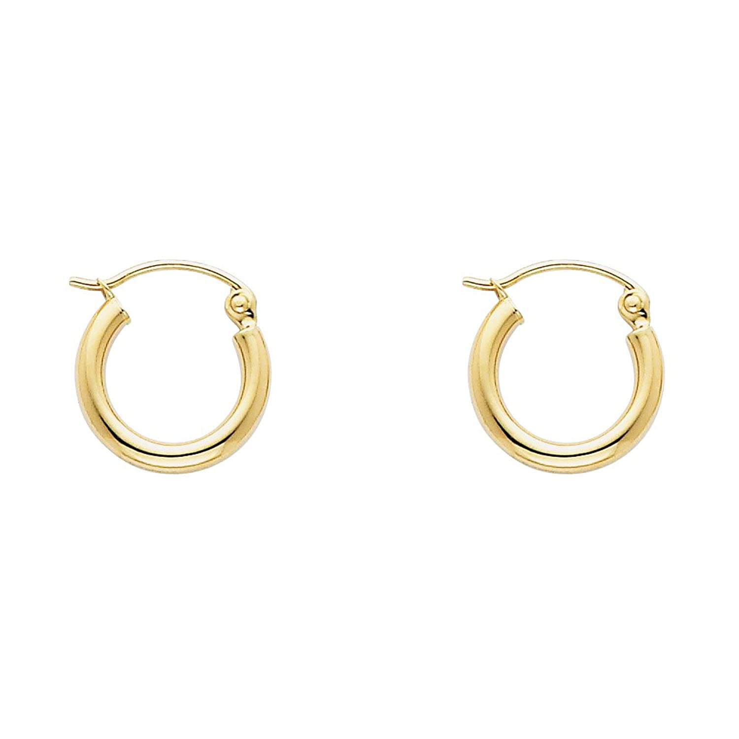en hoop gold online jewellery earrings yellow twist