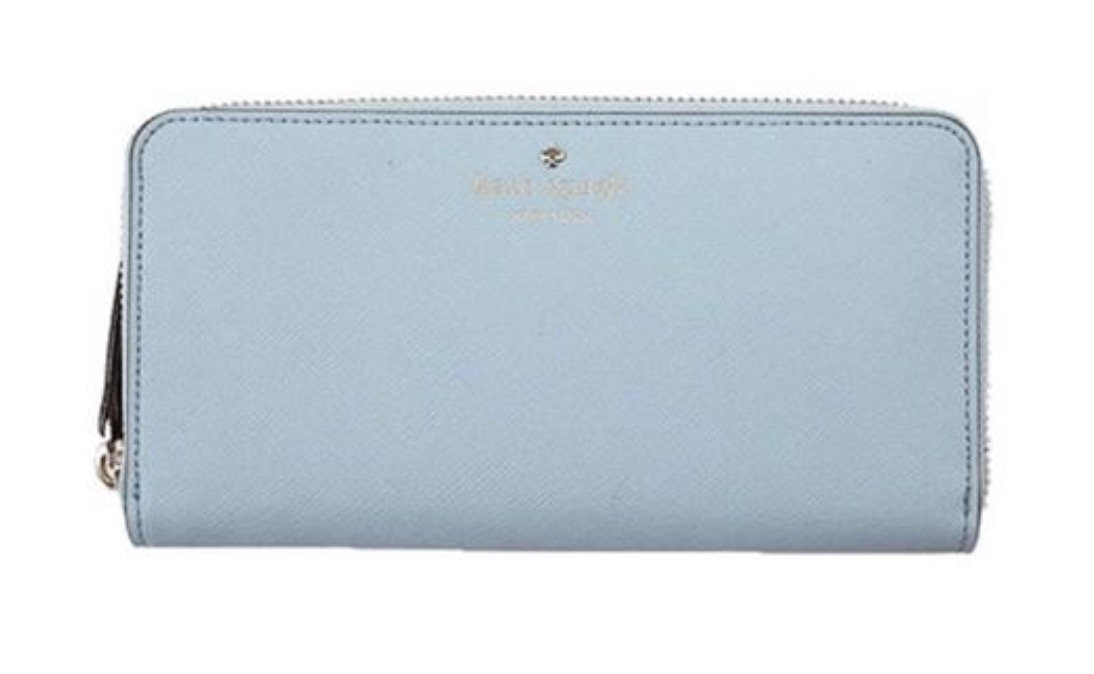 Kate Spade New York Mikas Pond Lacey Wallet (Arctic Sky) by Kate Spade New York