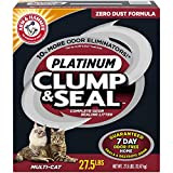 ARM & HAMMER Clump & Seal Platinum Clumping Cat Litter, 27.5lb