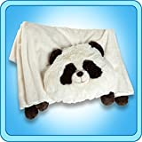 The Original My Pillow Pets PAnda Blanket - Black And White