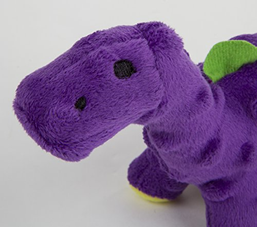 - goDog Just For Me Bruto with Chew Guard Technology Plush Dog Toy, Purple