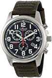 Citizen Men's AT0200-05E Eco-Drive Chronograph Canvas Watch from Citizen