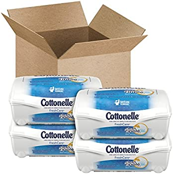 4 Pk. Cottonelle Fresh Care Flushable Cleansing Cloths (42 Ct.)