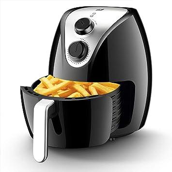 Freidora neumática multifunción doméstica sin aceite freidora eléctrica de gran capacidad máquina automática inteligente para papas fritas: Amazon.es: Hogar