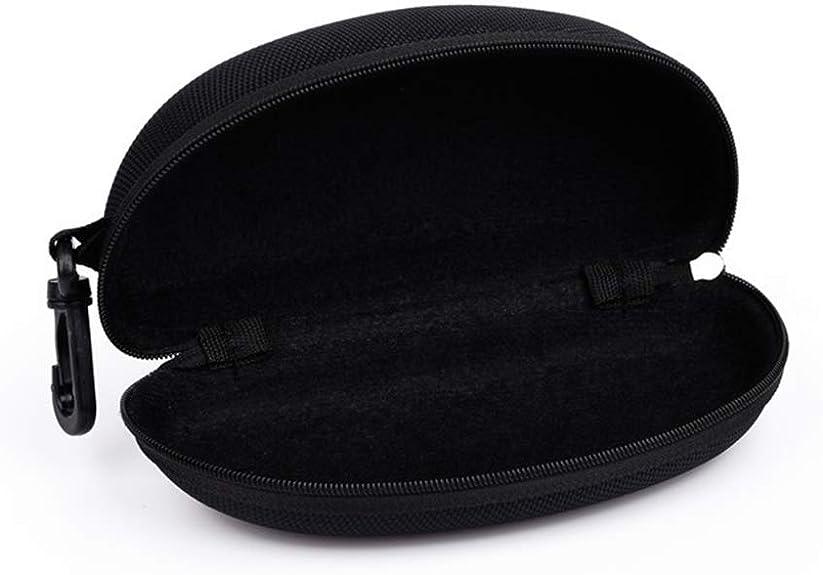 Ogquaton Estuche de Gafas Estuche de Gafas de Sol Caja de Almacenamiento de Gafas Caja de Gafas portátil Contenedor de Lentes para la mayoría de Las Gafas 1pcs Negro: Amazon.es: Joyería