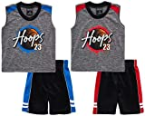Mad Game Baby Boys' Shorts Set - 4 Piece Tank Top
