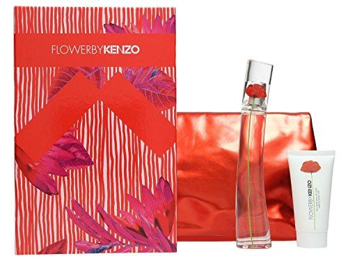 Kenzo Flowers 3 Piece Fragrance Set