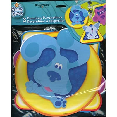 Designware Blue's Clues Party Dangling Decorations (3ct): Toys & Games