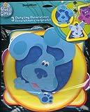 1 X Blue's Clues 3 Dangling Decorations (Blue, Magenta & Periwinkle) Foil Disc Hangers