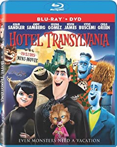 Hotel Transylvania Blu-ray Dvd Ultraviolet Digital Copy by Sony Pictures Home Entertainment