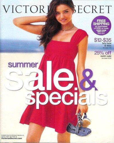 Victoria's Secret Catalog - Summer Sale & Specials 2008: Miranda Kerr - Secret Victoria Kerr Miranda