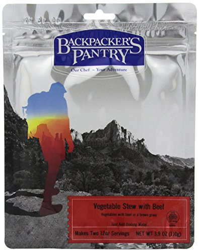 Backpackers Beef Pantry - Backpacker's Pantry Vegetable Stew with Beef, Two Serving Pouch