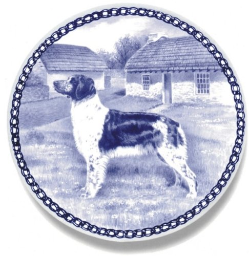 Brittany Lekven Design Dog Plate 19.5 cm  7.61 inches Made in Denmark NEW with certificate of origin PLATE  7474