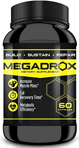 MEGADROX – Workout Supplement, Build, Sustain, Repair and Cut Recovery Time 1