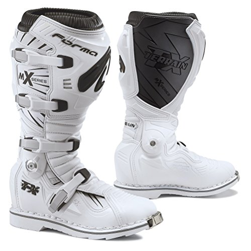 Forma Terrain TX Off-Road Motorcycle Boots (White, Size 1...