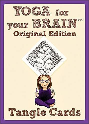 Yoga for Your Brain Original Edition: Tangle Cards: Amazon ...